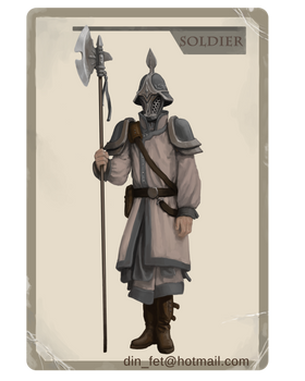 Player Card: The Soldier