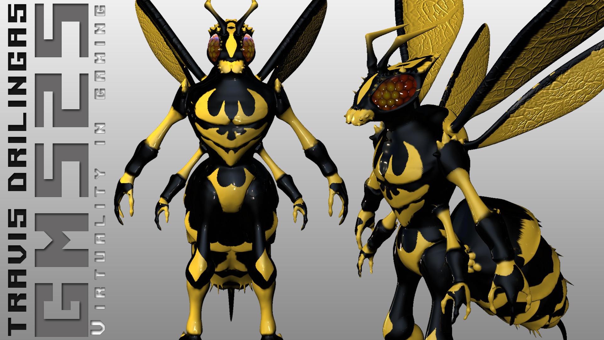 Amberbarb Wasp - WoW Battle Pet