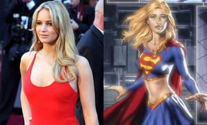 Jennifer Lawrence as Supergirl (Kara Zorel)