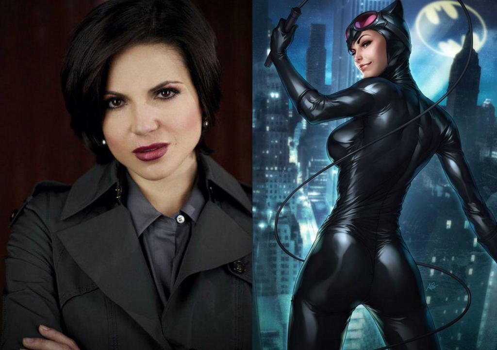 Lana Parrilla Wallpaper Lana parrilla as catwoman by