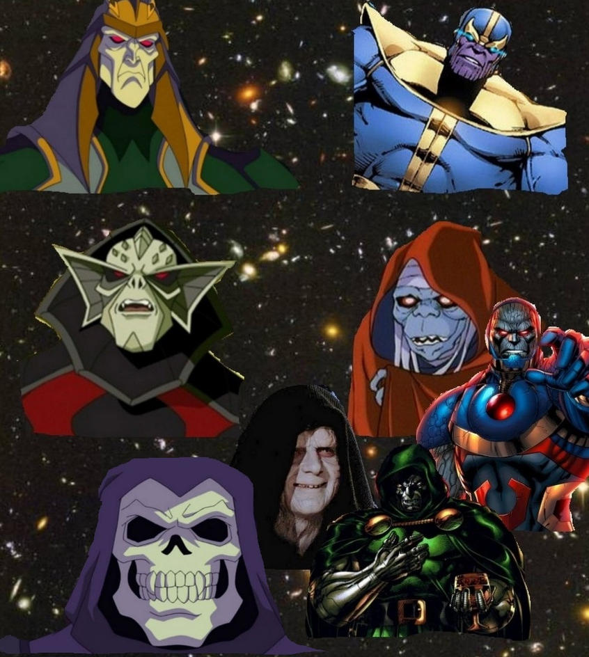 The greatest Dark Lords in the universe by BlackBatFan