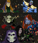 The greatest Dark Lords in the universe