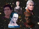 My top five of my favorite Star Trek villains by BlackBatFan