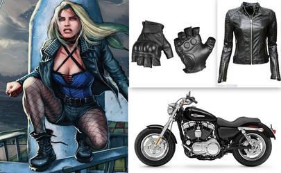 My Black Canary Collage by BlackBatFan
