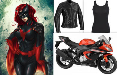 My Batwoman Collage by BlackBatFan