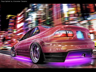 Honda Civic Type S by AS001