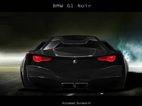 BMW Noire concept Rear