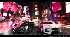 Mazda Furai vs. Citroen GT by AS001