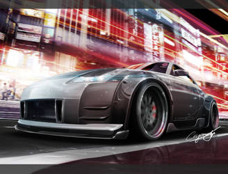 Nissan 350z Update by AS001