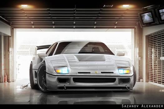 Ferrari F40 Update