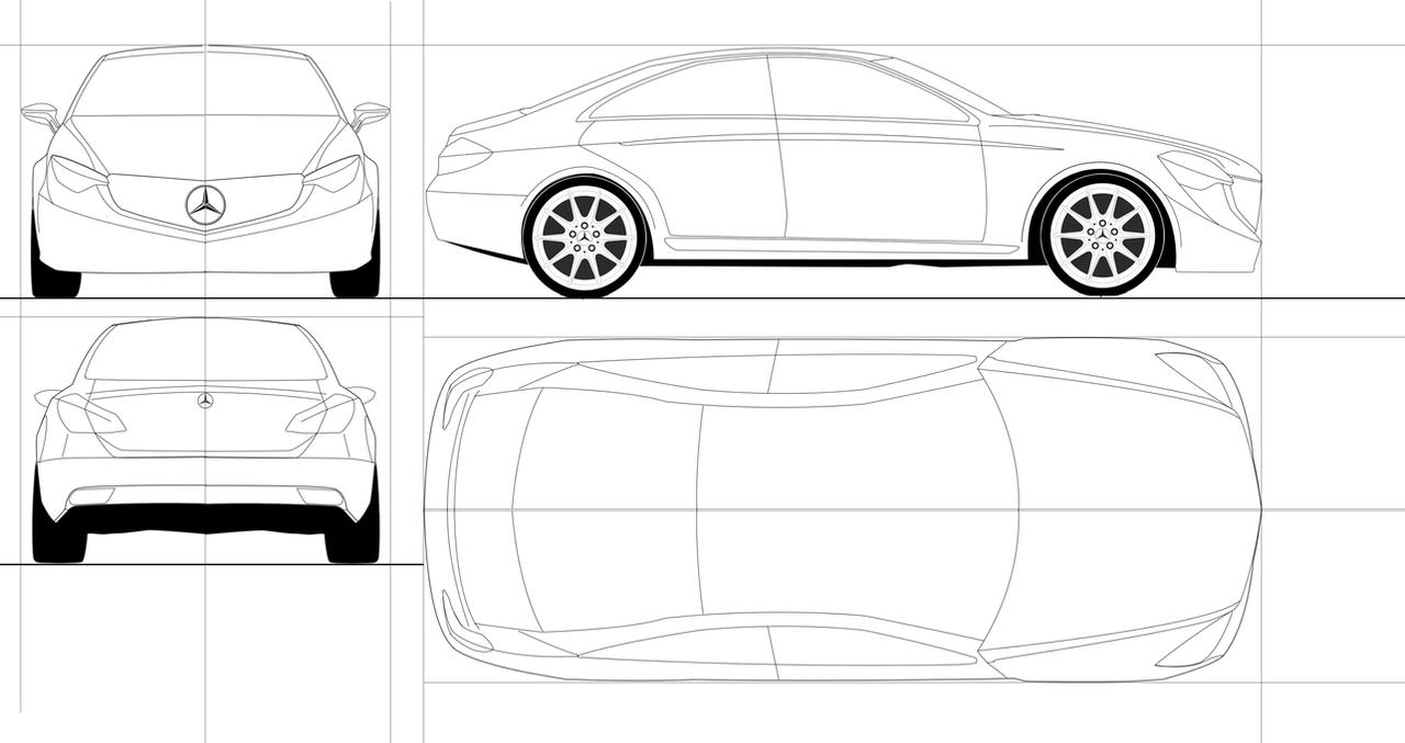 Mercedes benz blueprint by as001 on deviantart mercedes benz blueprint by as001 malvernweather Gallery