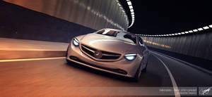 Mercredes-Benz 3d render by AS001