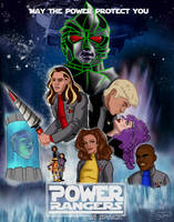 Power Rangers In Space by TheDavyJones