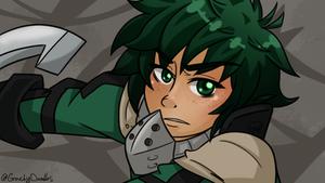 Izuku Midoriya (Screencap challenge)
