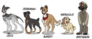 Dog Fight - Character Lineup