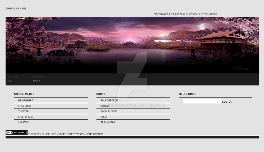Digital Sensei's Homepage by Denzuko