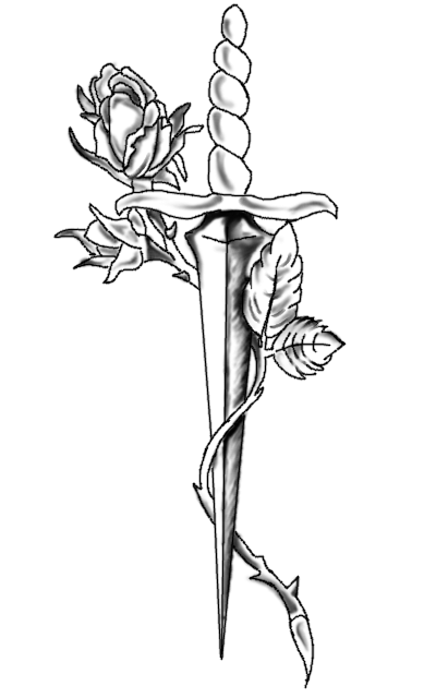 Knife Tattoo By X Kitchigo X On Deviantart