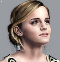 Emma Watson by RowenHebing