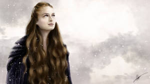 Sansa Stark - Game of Thrones by RowenHebing