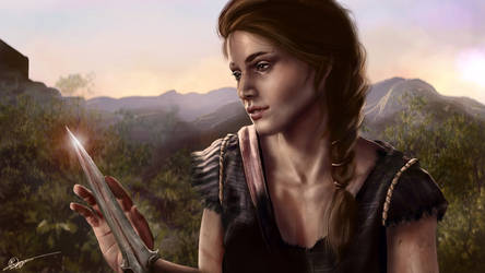 Kassandra - Assassin's Creed by RowenHebing