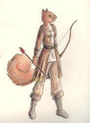 The Archer by Daquira