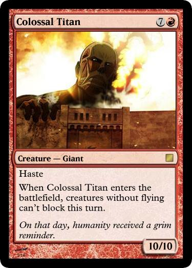Colossal Titan by UWoodward