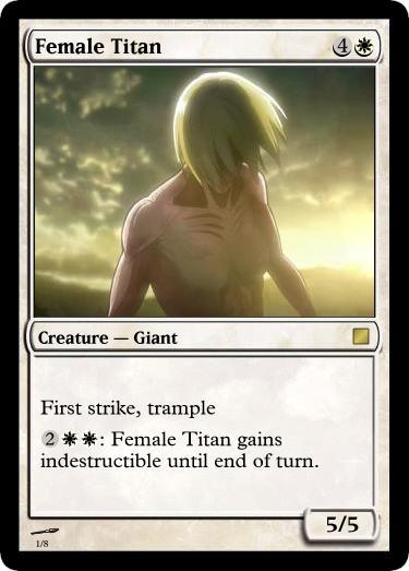 Female Titan by UWoodward