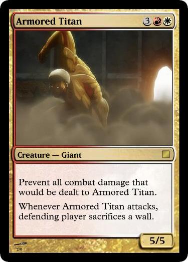 Armored Titan by UWoodward