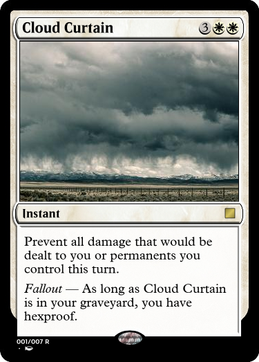 Cloud Curtain - take two by UWoodward
