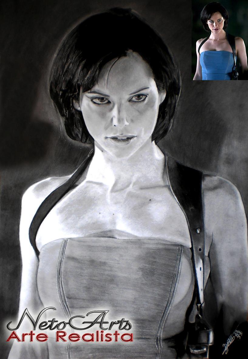 Jill Valentine by Netoarts
