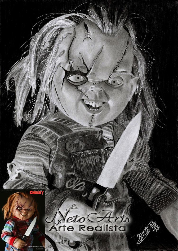 Chucky o brinquedo assassino by Netoarts