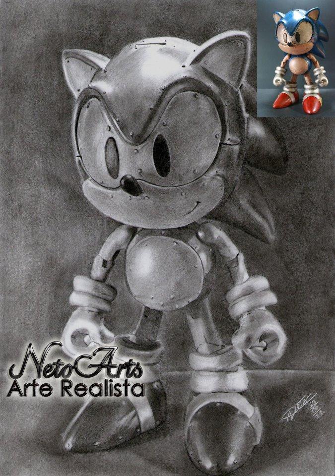 Sonic by Netoarts