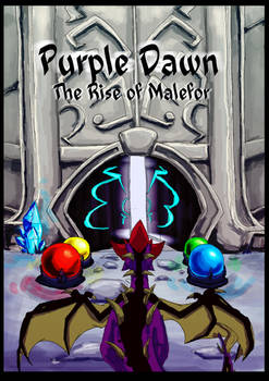 Purple Dawn: The Rise of Malefor - COVER
