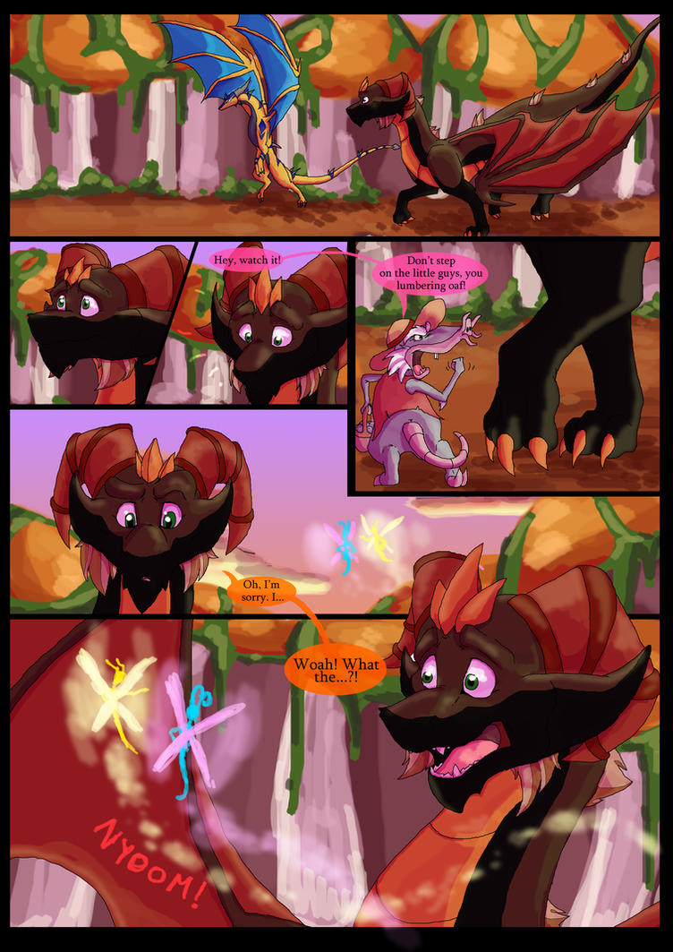 The Darkest Hour Chapter 1 Page 3 By Blaze Tfd On