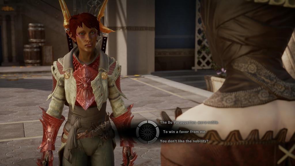 My Elven Dalish Inquisitor Asheri part 6 by Alexwind