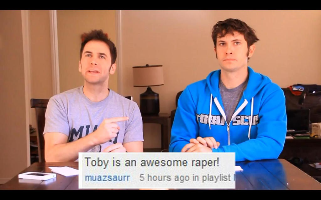 Toby is an awesome raper - Jacksfilms YGS 20 by TheAnimeChicki
