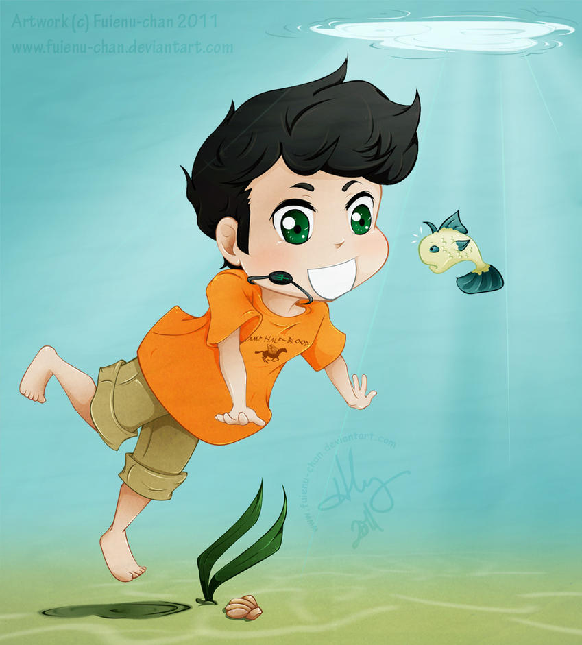 Pjto swimming with the fishes by fuienu chan on deviantart for Swimming with the fishes