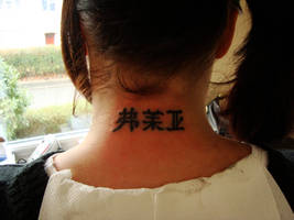 Chinese Symbols by shivles