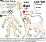 Chip - Werecat-Lion Reference