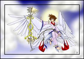 Keyblade Angel 2 by purplelemon