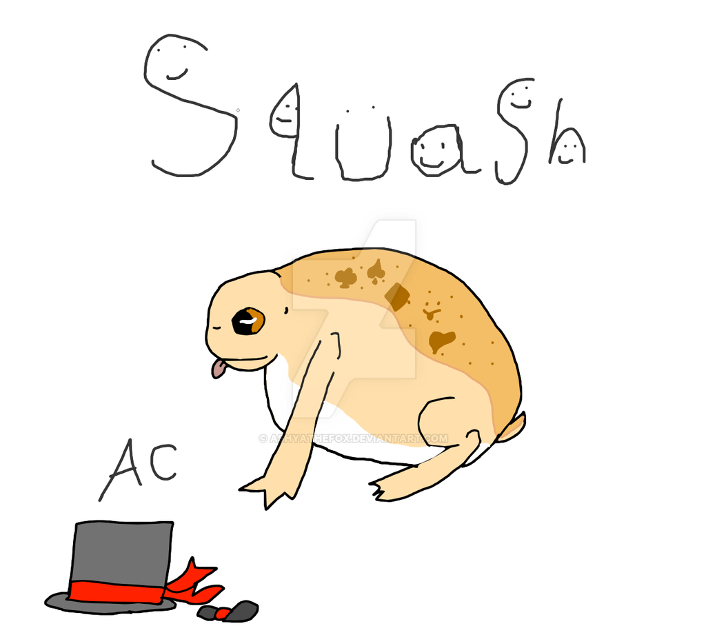 Sqaush The Desert Rain Frog Mei S Contest By Ashyathefox On