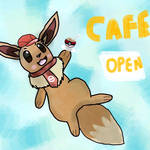 Eevees cafe mix by umbporeon