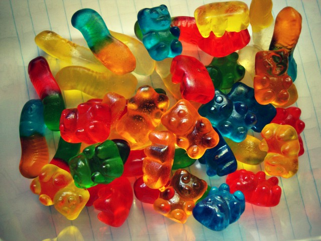 gummy bears by pinkrhein
