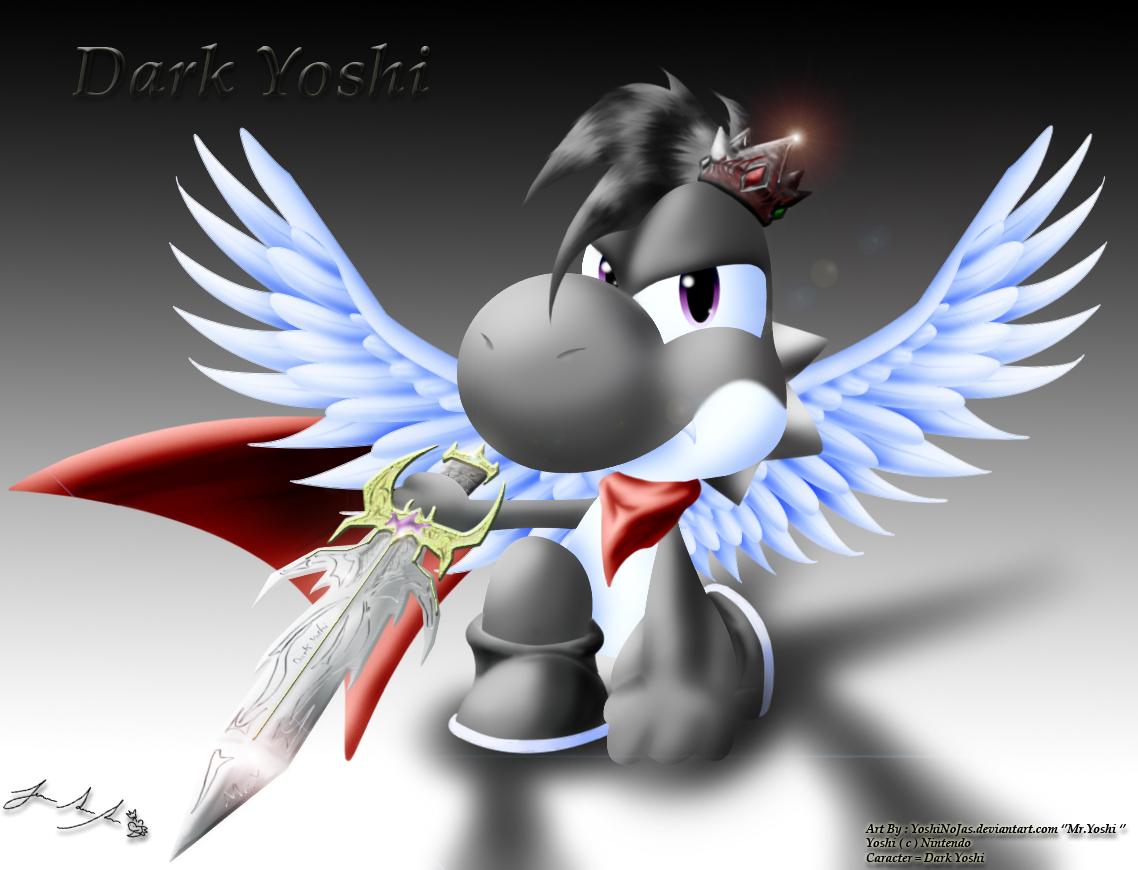 Dark Yoshi Request ( pedido ) Dark_Yoshi_request_by_YoshiNoJas