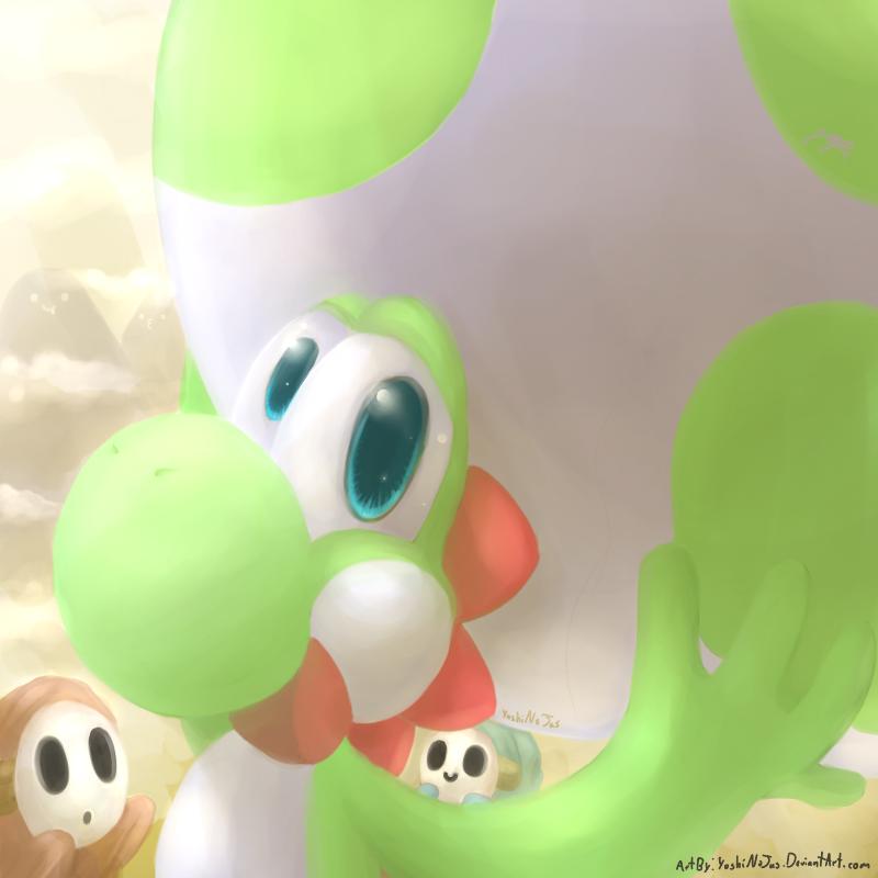 Big Egg by YoshiNoJas