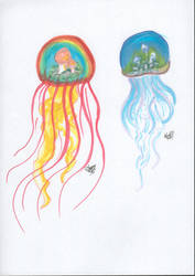 Mushroom Jellyfish