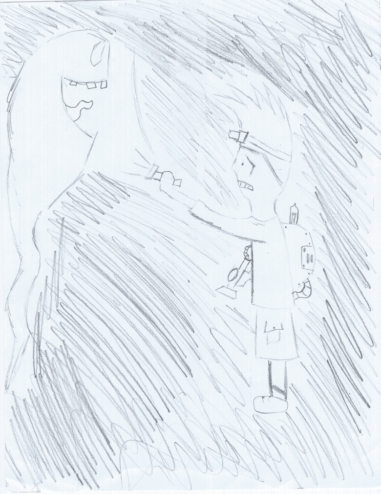 Ghostbusting doodle by NeutrinoShock