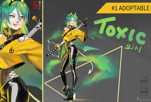 OPEN|Adoptable #1 [AUCTION] Toxic Girl by Reilixin