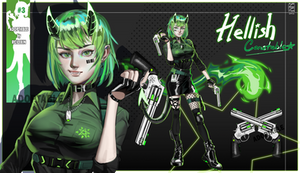 CLOSED Adoptable #3 [AUCTION] Hellish Constable