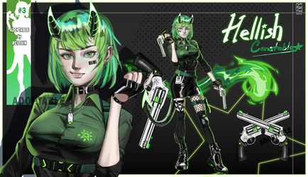 CLOSED Adoptable #3 [AUCTION] Hellish Constable by Reilixin